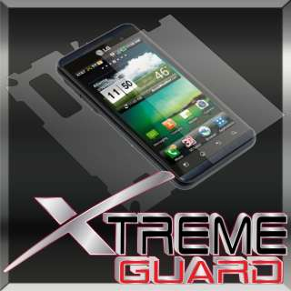 NEW LG Thrill 4G FULL BODY Invisible LCD Screen Protector Case Shield