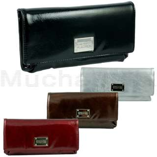 KENNETH COLE REACTION FRAME OF MIND CLUTCH WALLET WOMEN 077979039478