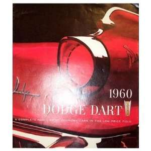1960 DODGE DART Sales Brochure Literature Book Automotive