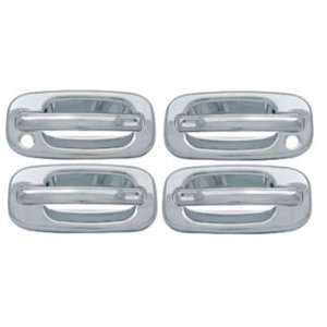 01 06 Sierra, Silverado Crew Cab Chrome Door Handle Covers