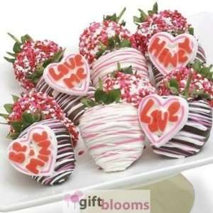 Day Love Chocolate Covered Strawberries W/ Candie
