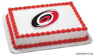 Carolina Hurricanes Edible Image Icing Cake Topper