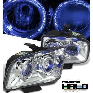 Ford 2005 2007 Ford Mustang Chrome W/Halo Headlight
