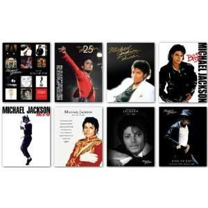 Michael Jackson   Mini Poster Set of Eight   Officially