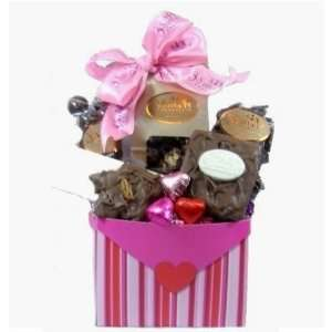 Valentines Day Chocolate Lovers Basket  Grocery