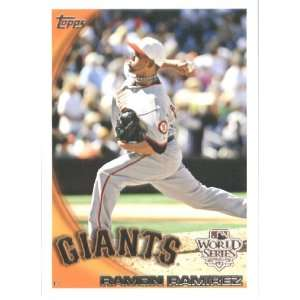 2010 Topps Ramon Ramirez   San Francisco Giants   Limited