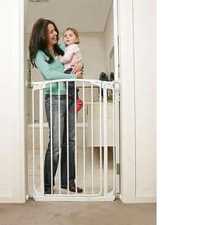 Dream Baby Extra Tall Swing Closed Security Gate with 2 Extensions