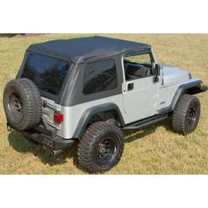Rugged Ridge 13750.35 Black Diamond Bowless XHD Soft Top