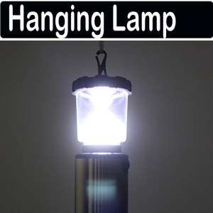 Fishing Hanging White LED Light Bivouac Lamp Outdoor Camping tent