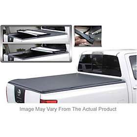 Tonneau Cover Truck Bed Pickup NEW BLACK VINYL TRI FOLD