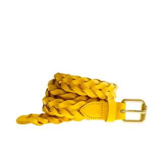 Braided leather belt   belts   Womens accessories   J.Crew