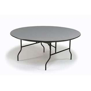 Midwest Folding 72 Round Heavy Duty Folding Table by Midwest Folding