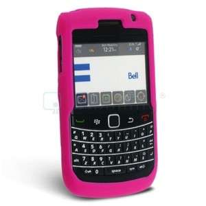 Hot Pink Silicone Soft Skin Case for BlackBerry Bold 9700 9780 Phone