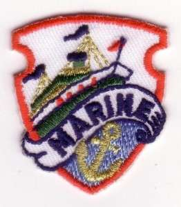Marine Boat Ship Liner Anchor Embroidery Applique Patch