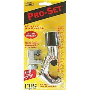 Pro Set Premium Tube Cutter & Mini Tube Cutter