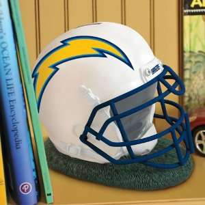 San Diego Chargers NFL Helmet Shape Coin Bank