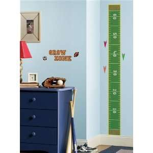 Play Ball Growth Chart Wall Decal in RoomMates