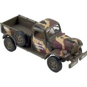 Die Cast Truck Replica   Dodge Power Wagon   Marine Corps, 132 Scale