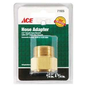 Garden Hose Couplings, Female To Male Brass Coupling, 3/4