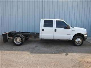 2004 FORD XLT CREW CAB F 550 DRW 4X4 DIESEL f550 in Commercial Trucks