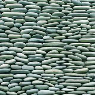 Standing Pebbles Cypress 4 In. x 12 In. Natural Stone River Rock Wall