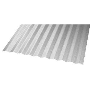 Construction Metals Inc. 10 Ft. Steel Corrugated Roof Panel CR10G U at