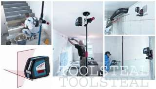 Bosch GLL2 50 Self Leveling Cross Line Laser with Pulse