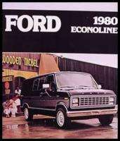 1980 Ford Econoline Van Original Color Brochure 80