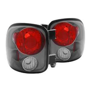 Anzo USA 211062 Ford Black Tail Light Assembly   (Sold in Pairs)
