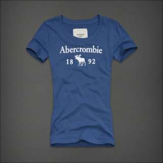 Abercrombie & Fitch T Shirt da Donna A&F Core Moose L