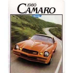 1980 CHEVROLET CAMARO Sales Brochure Literature Book