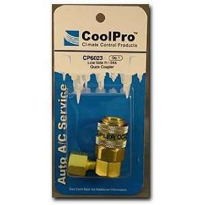 CoolPro Low Side 90 R 134a Quick Coupler Adapter (CP6023) Automotive