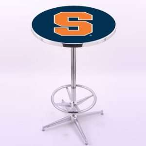 Holland Bar Stool Co. College Chrome Pub Table Furniture