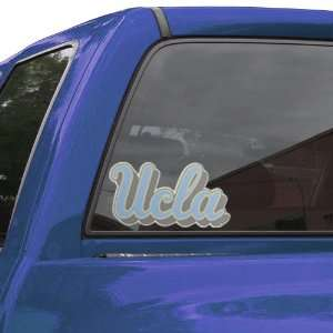 NCAA UCLA Bruins Large Perforated Window Decal Automotive
