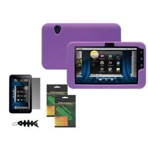 Case Cover + Anti Glare Screen Protector for Dell Streak 7 WiFi Tablet