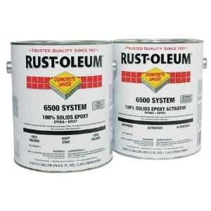 RUST OLEUM S6502410 Floor Coating Kit,1 gal,Clear