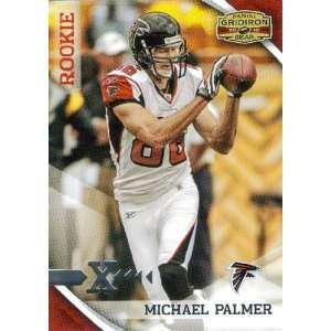 2010 Panini Gridiron Gear #225 Michael Palmer RC   Atlanta Falcons (RC
