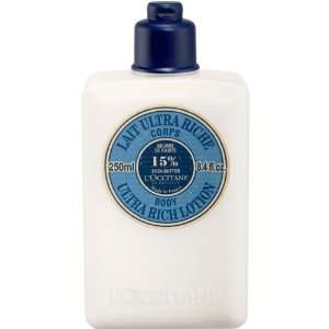 LOccitane Shea Butter Body Lotion 250ml / 8.5oz Health