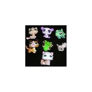 Littlest Pet Shop Figures Set Of 7 Toys & Games