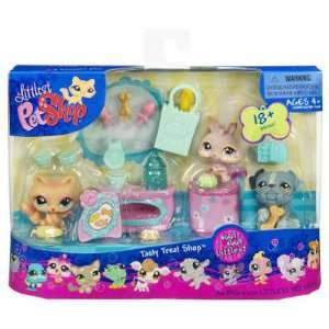 Littlest Pet Shop Figures Themed Playset Littlest Tasty Treat Shop