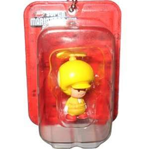 Propeller Toad Yellow Figure   New Super Mario Bros. Wii