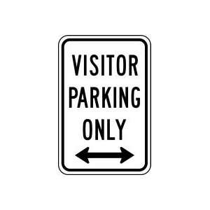 PARKING ONLY 18 x 12 Sign .080 Reflective Aluminum
