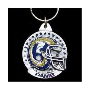 NFL Helmet Key Ring   St. Louis Rams
