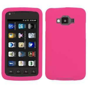 (Hot Pink) for SAMSUNG I847 (Rugby Smart) Cell Phones & Accessories