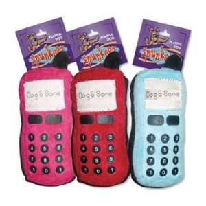 Economy Assorted Plush Cell Phone Dog Toy
