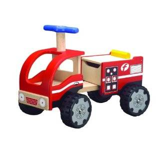 METAL SPEEDSTER FIRE TRUCK Ride On 29 Schylling Toys Toys & Games