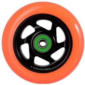 Phoenix 6 Spoke Wheel Black Orange 100mm
