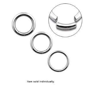 316L Surgical Steel Seemless Segment Ring   SGM L Jewelry