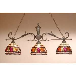 Tiffany Lamp   Dale Tiffany Golden Harvest Chandelier