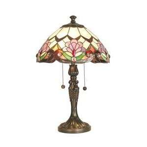 Dale Tiffany TT60376 El Dorado Table Lamp, Antique Golden Sand and Art
